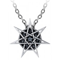 Elven Star Mystic Necklace Jewelry Gem Shop  Sterling Silver Jewerly | Gemstone Jewelry | Unique Jewelry