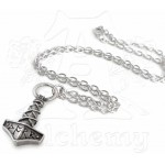 Thors Hammer Pewter Amulet Pendant at Jewelry Gem Shop,  Sterling Silver Jewerly | Gemstone Jewelry | Unique Jewelry