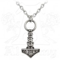 Thors Hammer Pewter Amulet Pendant Jewelry Gem Shop  Sterling Silver Jewerly | Gemstone Jewelry | Unique Jewelry