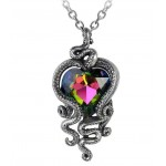 Heart of Cthulhu Gothic Swarovski and Pewter Necklace at Jewelry Gem Shop,  Sterling Silver Jewerly | Gemstone Jewelry | Unique Jewelry