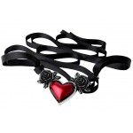 Blood Heart Black Rose Heart Pewter Necklace at Jewelry Gem Shop,  Sterling Silver Jewerly | Gemstone Jewelry | Unique Jewelry