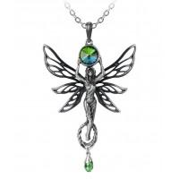 Green Goddess Absinthe La Fee Vert Necklace Jewelry Gem Shop  Sterling Silver Jewerly | Gemstone Jewelry | Unique Jewelry