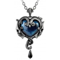Affaire du Coeur Skull Heart Pendant Jewelry Gem Shop  Sterling Silver Jewerly | Gemstone Jewelry | Unique Jewelry