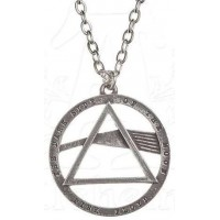 Pink Floyd Dark Side Prism Necklace