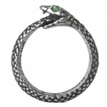 Sophia Serpent Pewter Ring