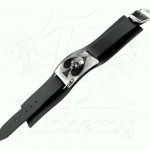 Ace of Dead Spades Leather Strap Bracelet at Jewelry Gem Shop,  Sterling Silver Jewerly | Gemstone Jewelry | Unique Jewelry