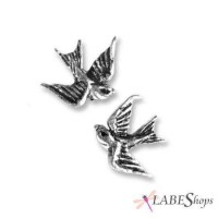 Swallow Stud Pewter Bird Earrings Jewelry Gem Shop  Sterling Silver Jewerly | Gemstone Jewelry | Unique Jewelry