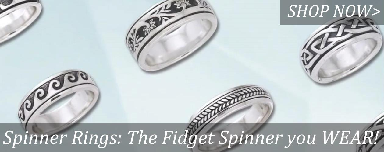 Spinner rings are the fidget spinner you wear