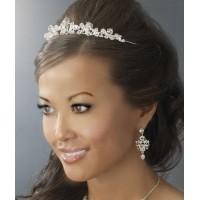 Alicia Silver Plated Rhinestone Bridal Tiara Jewelry & Gem Shop  Sterling Silver Jewerly | Gemstone Jewelry | Unique Jewelry