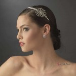Crystal Floral Rhinestone Bridal Headpiece at Jewelry Gem Shop,  Sterling Silver Jewerly | Gemstone Jewelry | Unique Jewelry