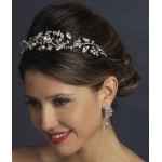 Antique Style Rhinestone and Pearl Headband at Jewelry Gem Shop,  Sterling Silver Jewerly   Gemstone Jewelry   Unique Jewelry