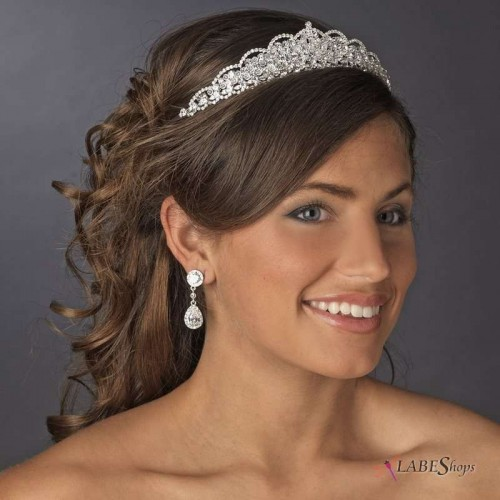Rhinestone Bridal Tiara at Jewelry Gem Shop,  Sterling Silver Jewerly   Gemstone Jewelry   Unique Jewelry
