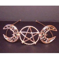 Triple Goddess Large Bronze Circlet