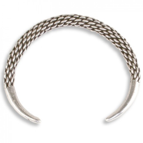 Viking Braided Cuff Bracelet at Jewelry Gem Shop,  Sterling Silver Jewerly | Gemstone Jewelry | Unique Jewelry