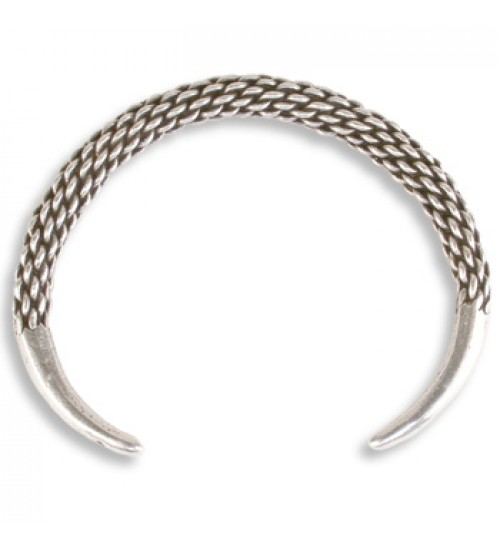 Viking Braided Cuff Bracelet at Jewelry Gem Shop,  Sterling Silver Jewerly | Gemstone Jewelry | Unique Jewelry