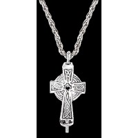 Celtic Cross Aromatherapy Diffuser Pendant Jewelry Gem Shop  Sterling Silver Jewerly | Gemstone Jewelry | Unique Jewelry