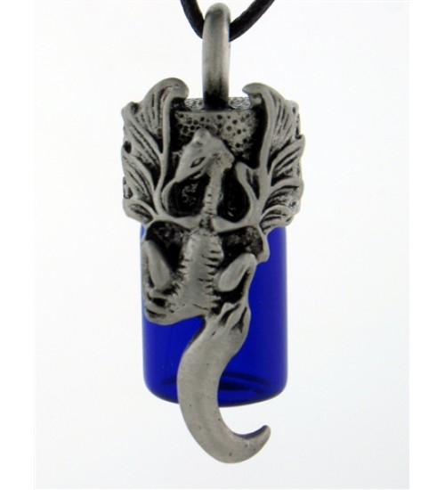 Dragon Essential Oil Bottle Vial Necklace at Jewelry Gem Shop,  Sterling Silver Jewerly | Gemstone Jewelry | Unique Jewelry