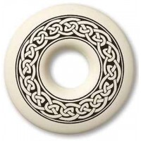 Celtic Knotwork Annulus Porcelain Necklace