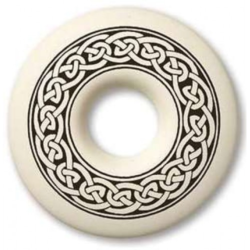 Celtic Knotwork Annulus Porcelain Necklace at Jewelry Gem Shop,  Sterling Silver Jewerly | Gemstone Jewelry | Unique Jewelry