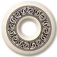 Celtic Spirals Annulus Porcelain Necklace