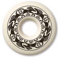 Horse Annulus Porcelain Celtic Necklace
