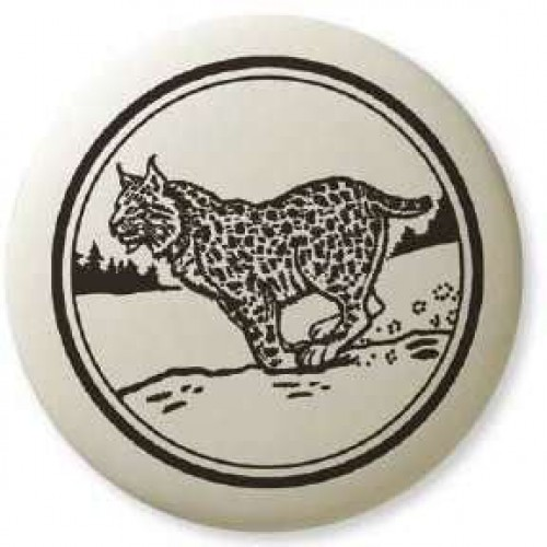 Bobcat Pathfinder Animal Totem Porcelain Necklace at Jewelry Gem Shop,  Sterling Silver Jewerly | Gemstone Jewelry | Unique Jewelry