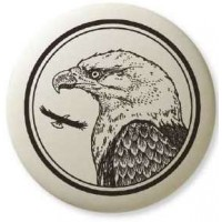 Bald Eagle Pathfinder Animal Totem Porcelain Necklace Jewelry Gem Shop  Sterling Silver Jewerly | Gemstone Jewelry | Unique Jewelry