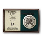 Big Horn Sheep Pathfinder Animal Totem Porcelain Necklace at Jewelry Gem Shop,  Sterling Silver Jewerly | Gemstone Jewelry | Unique Jewelry