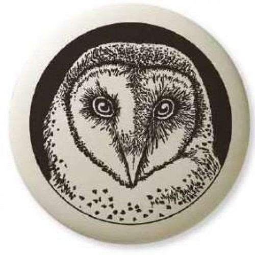 Barn Owl Pathfinder Animal Totem Porcelain Necklace at Jewelry Gem Shop,  Sterling Silver Jewerly | Gemstone Jewelry | Unique Jewelry