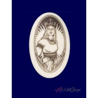 The Queen Arthurian Legends Porcelain Necklace Jewelry Gem Shop  Sterling Silver Jewerly | Gemstone Jewelry | Unique Jewelry