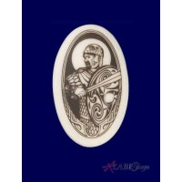 The Knight Arthurian Legends Porcelain Necklace
