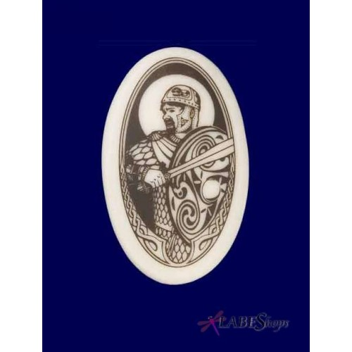 The Knight Arthurian Legends Porcelain Necklace at Jewelry Gem Shop,  Sterling Silver Jewerly | Gemstone Jewelry | Unique Jewelry
