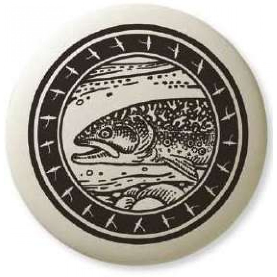 Brook Trout Pathfinder Animal Totem Porcelain Necklace At Jewelry Gem Sterling Silver Jewerly