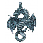 Air Dragon Pewter Necklace at Jewelry Gem Shop,  Sterling Silver Jewerly | Gemstone Jewelry | Unique Jewelry