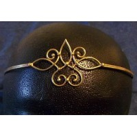 Bronze Circlet with Swirls