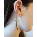 Bronze Sword Non-Piercing Ear Wrap at Jewelry Gem Shop,  Sterling Silver Jewerly | Gemstone Jewelry | Unique Jewelry