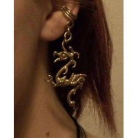 Bronze Dragon Ear Cuff Jewelry Gem Shop  Sterling Silver Jewerly | Gemstone Jewelry | Unique Jewelry