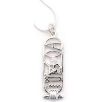I Love You Egyptian Cartouche Sterling Silver Necklace Jewelry Gem Shop  Sterling Silver Jewerly | Gemstone Jewelry | Unique Jewelry