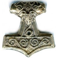 Raven Thors Hammer Pendant Jewelry Gem Shop  Sterling Silver Jewerly | Gemstone Jewelry | Unique Jewelry
