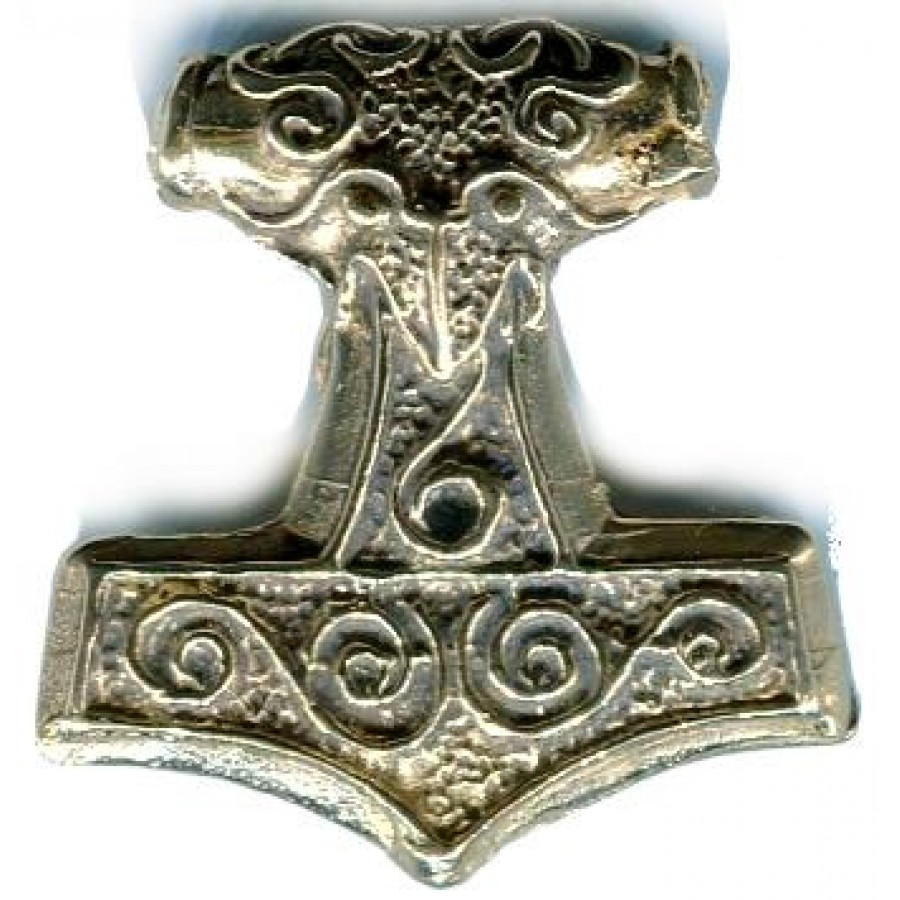 hammer viking thors for pewter norse protection pendant asartu thor jewelry necklace