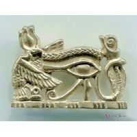 Royal Eye of Horus Pectoral Pendant Jewelry Gem Shop  Sterling Silver Jewerly | Gemstone Jewelry | Unique Jewelry