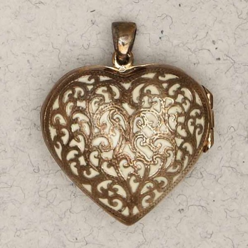 Heart 2 Sided Bronze Locket Necklace at Jewelry Gem Shop,  Sterling Silver Jewerly | Gemstone Jewelry | Unique Jewelry