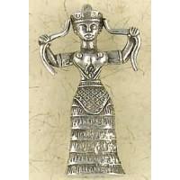 Snake Goddess Necklace Jewelry Gem Shop  Sterling Silver Jewerly | Gemstone Jewelry | Unique Jewelry