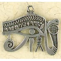 Eye of Horus Cobra Pewter Necklace Jewelry Gem Shop  Sterling Silver Jewerly | Gemstone Jewelry | Unique Jewelry