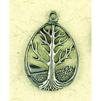Tree of Life Pewter Necklace