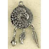 Eagle Animal Spirit Pewter Necklace Jewelry Gem Shop  Sterling Silver Jewerly | Gemstone Jewelry | Unique Jewelry