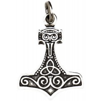 Thors Hammer Sterling Silver Pendant Jewelry Gem Shop  Sterling Silver Jewerly | Gemstone Jewelry | Unique Jewelry