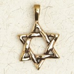 Star of David Bronze Necklace at Jewelry Gem Shop,  Sterling Silver Jewerly | Gemstone Jewelry | Unique Jewelry