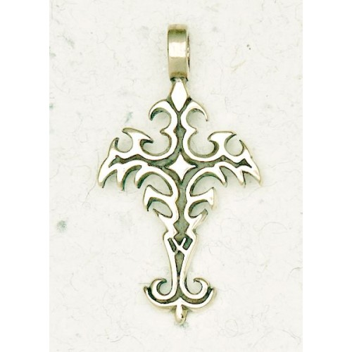 Gothic Cross Bronze Necklace at Jewelry Gem Shop,  Sterling Silver Jewerly | Gemstone Jewelry | Unique Jewelry