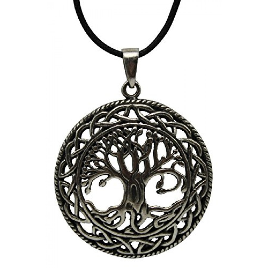 875a5ea4a8815 Celtic Tree of Life Pewter Necklace at Jewelry Gem Shop